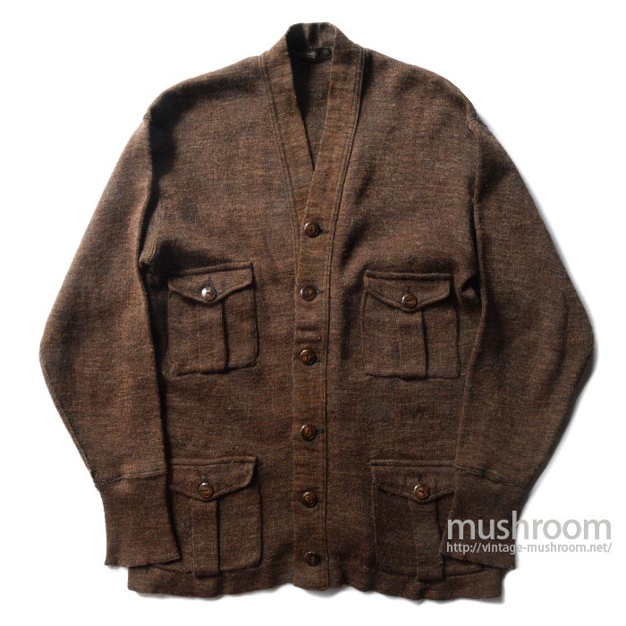 OLD FOUR POCKET WORK CARDIGAN