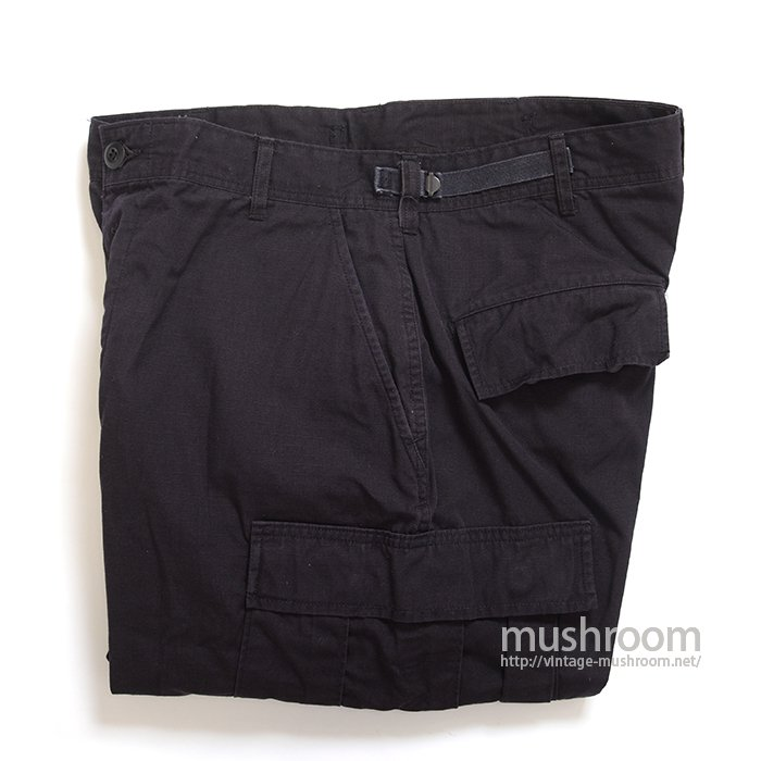 U.S.MILITARY BLACK 357 BDU PANTS( M-X-SHORT )
