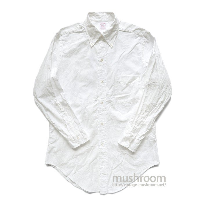 BROOKS BROS BD WHITE OXFORD SHIRT