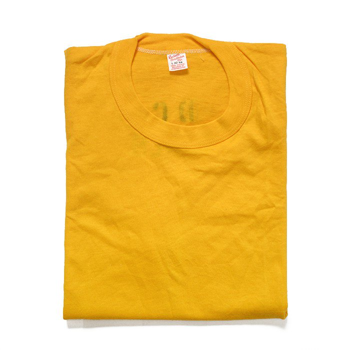 RUSSELL SOUTHERN PLAIN TEE WITH STENCIL( DEADSTOCK )