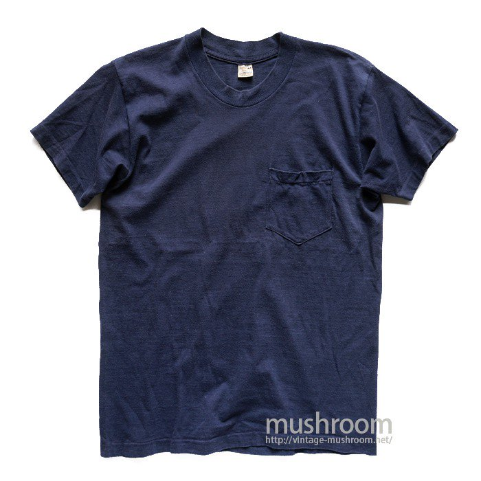 POCKET POLO PLAIN T-SHIRT