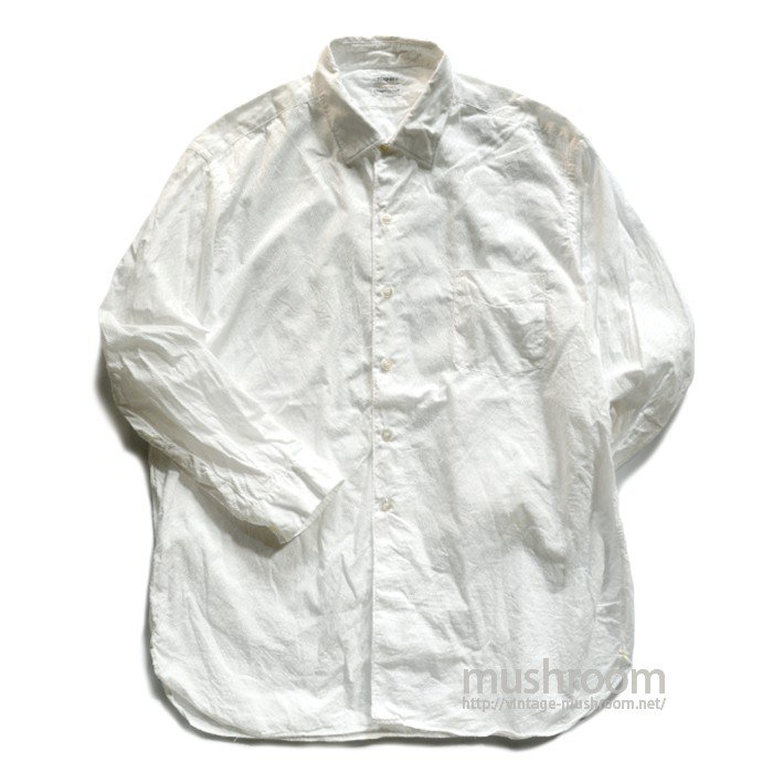 PILGRIM WHITE COTTON SHIRT