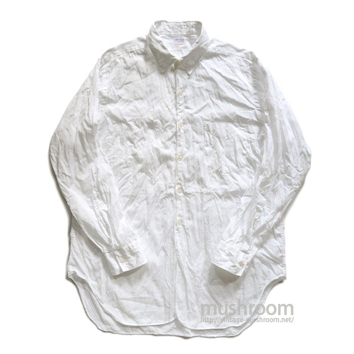 NELVO WHITE COTTON SHIRT