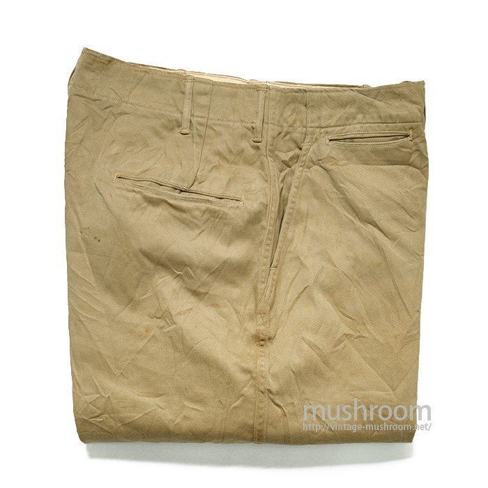 U.S.ARMY CHINO TROUSER( W32/L31/ONE-WASHED )