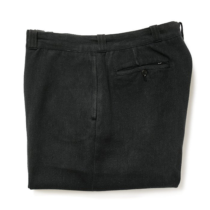 OLD COVERT WORK TROUSER( BLACK )