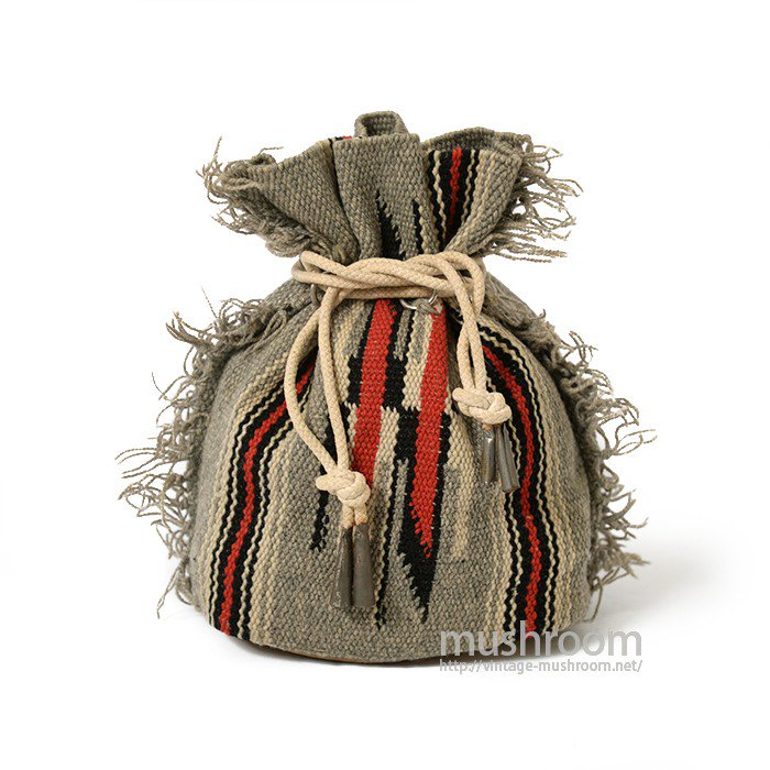 OLD HAND WOVEN CHIMAYO PURSE BAG( MINT )