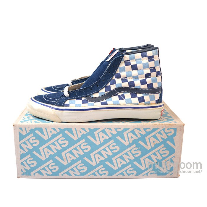 VANS HI-TOP CANVAS SK8 SHOES( 10/DEADSTOCK )