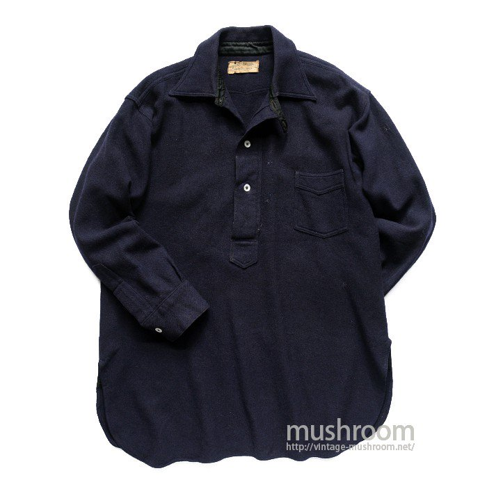 OREGON CITY ONE-POCKET WOOL SHIRT WITH CHINSTRAP