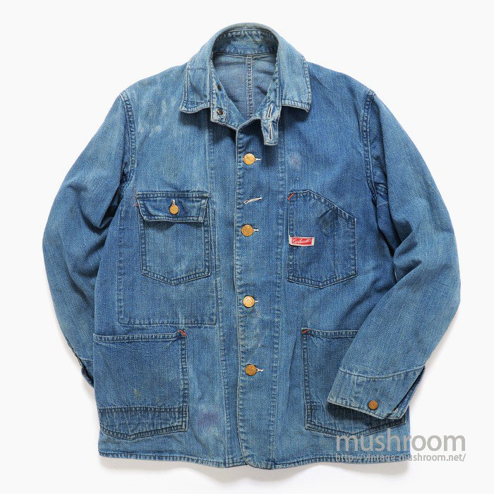 CARHARTT DENIM COVERALL WITH CHINSTRAP