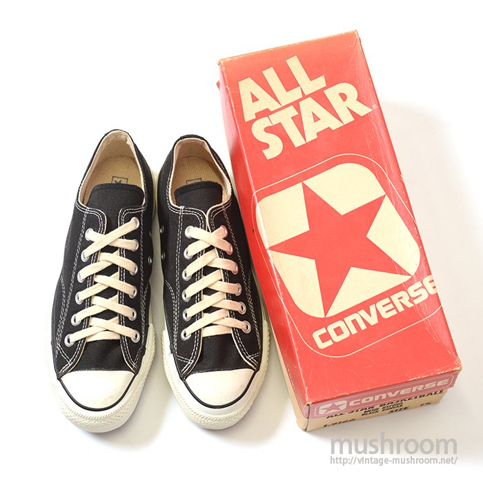 CONVERSE ALL-STAR LO  CANVAS SHOES( 6 1/2/DEADSTOCK )