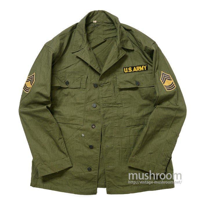 WW2 U.S.ARMY TWO-POCKET HBT JACKET( 38/DEADSTOCK )