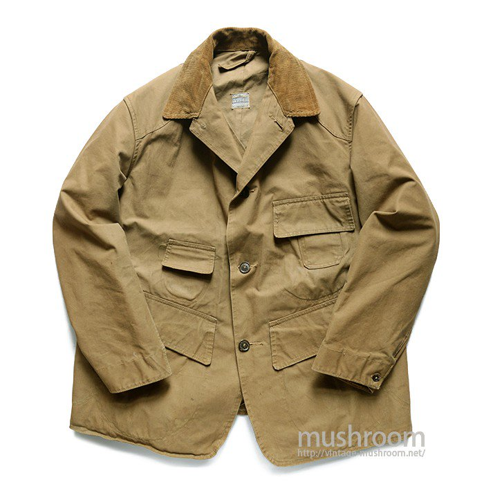 EVRDRI CANVAS HUNTING JACKET WITH VEST