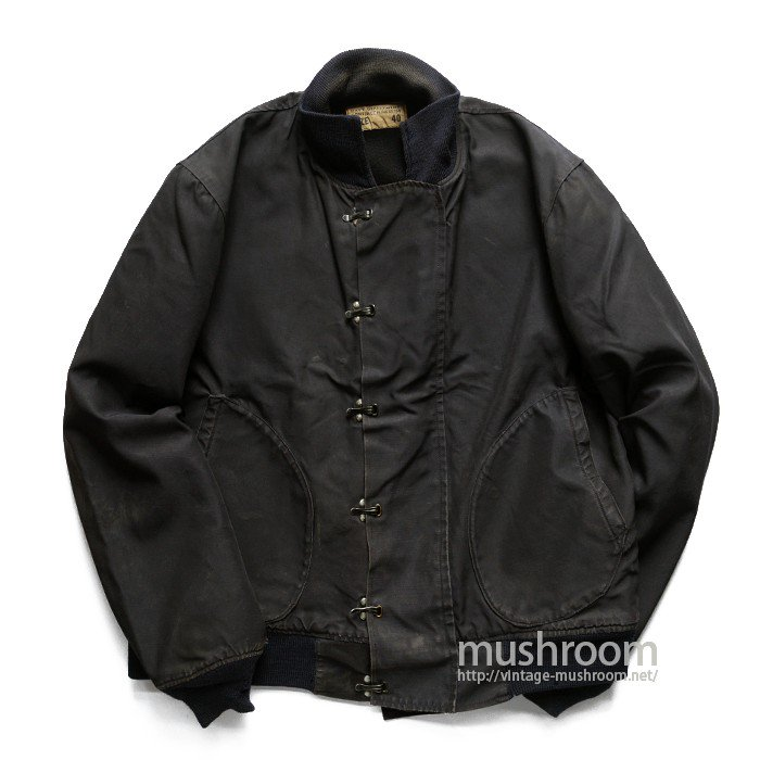 U.S.NAVY DECK JACKET( 40/UNUSUAL MATERIAL )