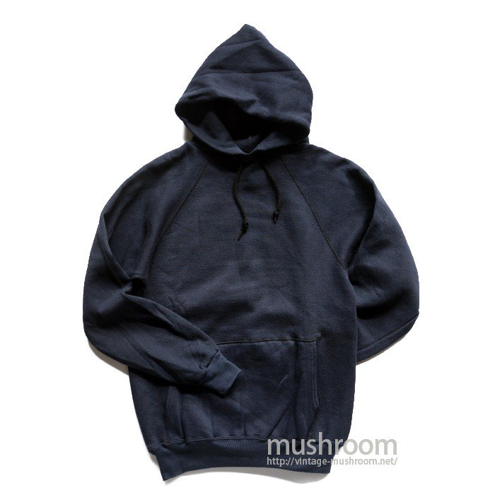 UNKNOWN NAVY SWEAT HOODY( M/DEADSTOCK )