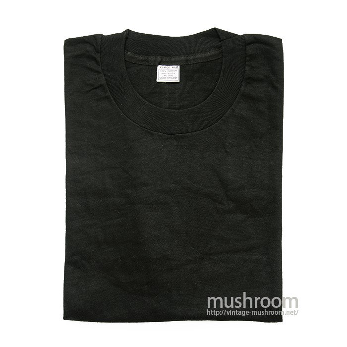 UNION UNDERWEAR BLACK COTTON T-SHIRT( XL/DEADSTOCK )