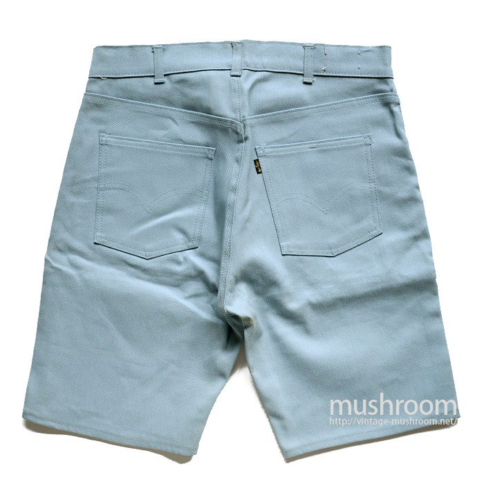 LEVI'S BIGE COTTON TWIL SHORTS( DEADSTOCK )