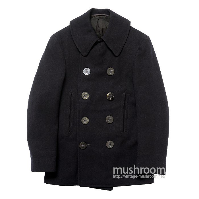 U.S.N NAVAL CLOTHING FACTORY P COAT( 13STAR BUTTON )