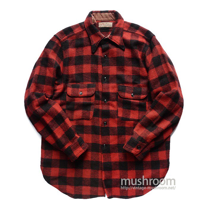 ENSENADA PLAID WOOL SHIRT( MADE BY RELIANCE )