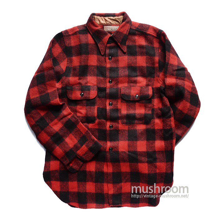 ENSENADA PLAID WOOL SHIRT