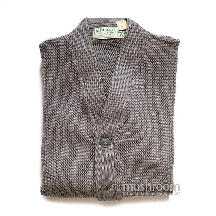 IMPERIAL OFFICIAL AWARD CARDIGAN( 40/DEADSTOCK )
