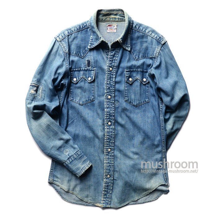 LEVI'S SHORTHORN DENIM SHIRT
