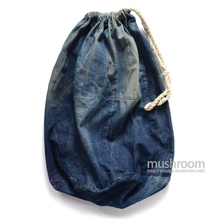 OLD DENIM LAUNDRY BAG( LEVI'S/HOMEMADE)