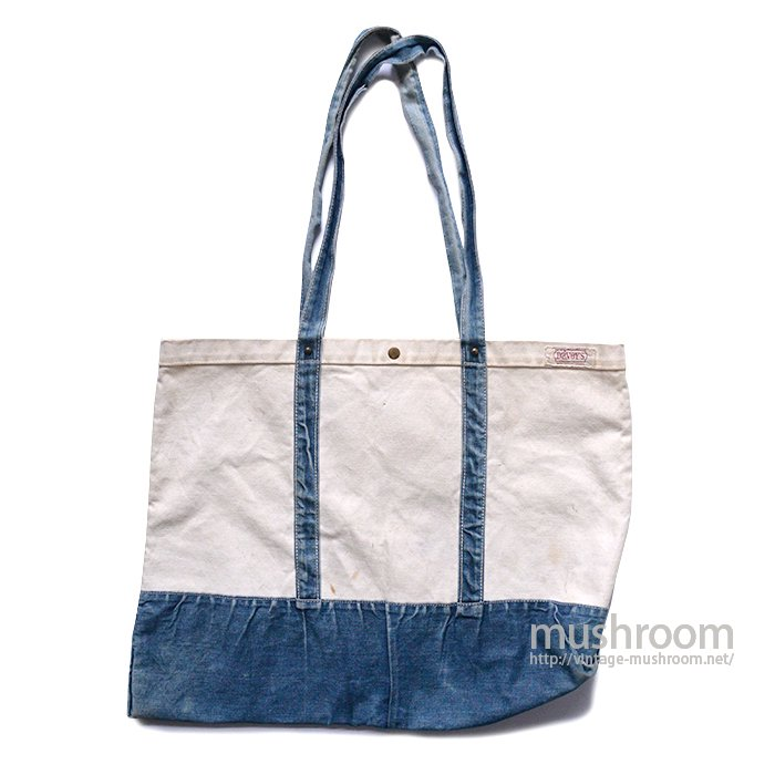DAVEY'S CANVAS&DENIM TOTE BAG