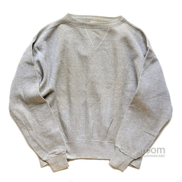 BRENT SINGLE-V PLAIN SWEAT SHIRT