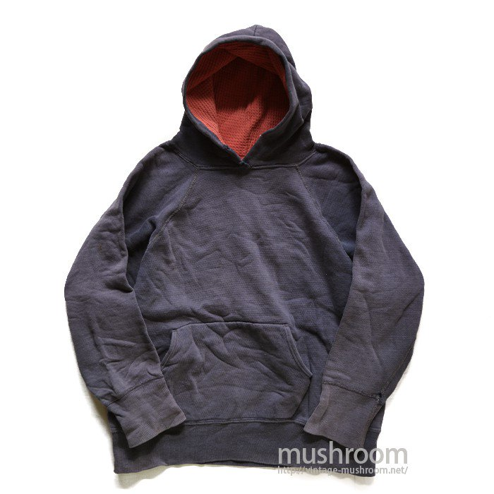OLD BLANK SWEAT HOODY WITH THERMAL