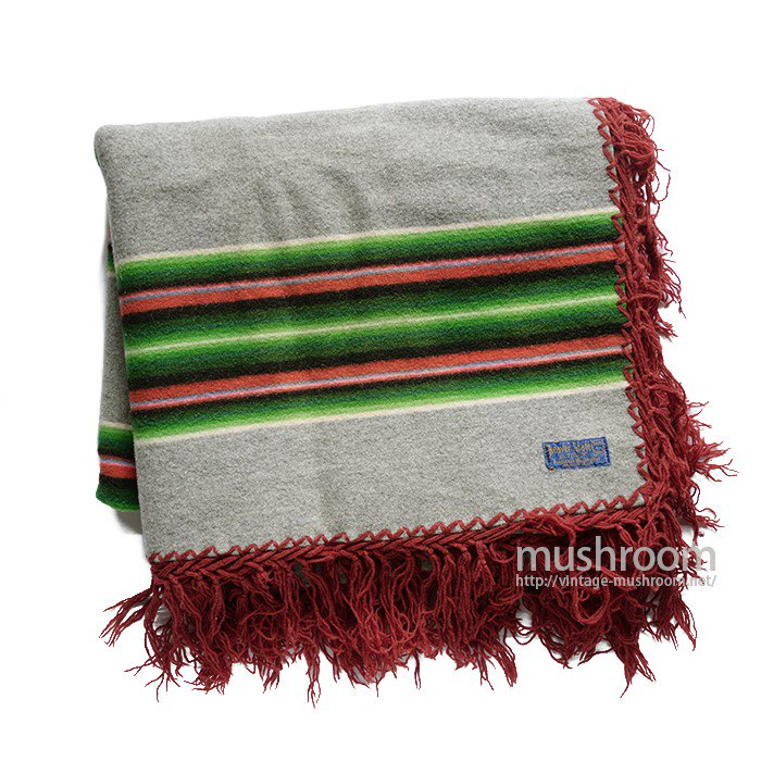 PENDLETON BEAVER STATE NATIVE BORDER STRIPE BLANKET