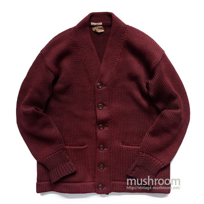 SPORTING GOODS PLAIN CARDIGAN