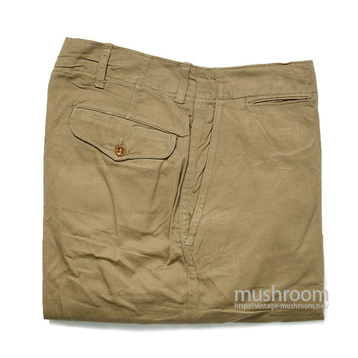 WW2 USMC CHINO TROUSER( DEADSTOCK )