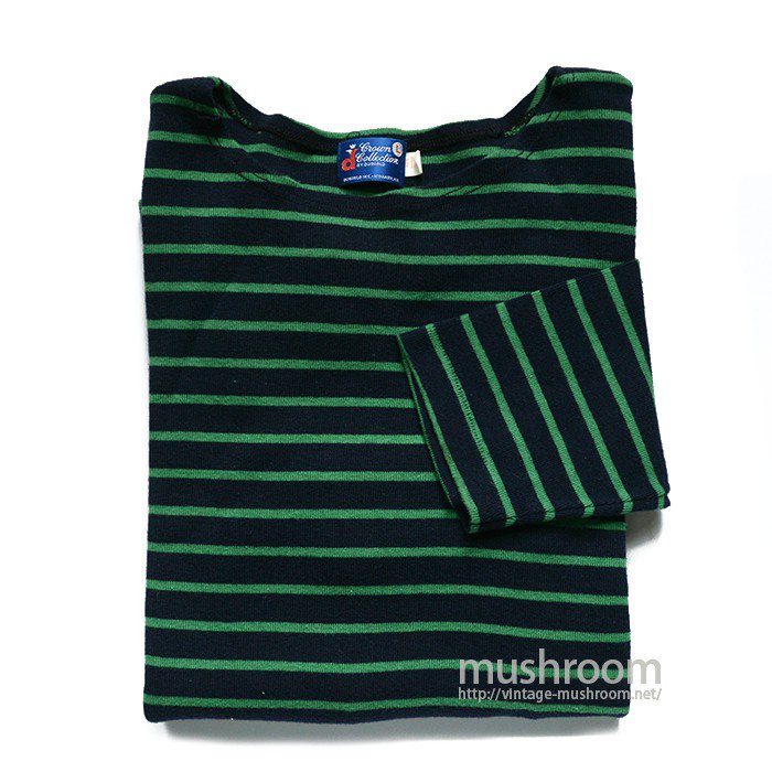 DUOFOLD BORDER-STRIPE LONG SLEEEVE TEE( M/MINT )