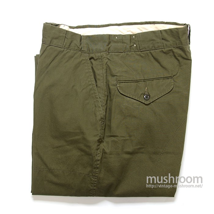 L.L.BEAN COTTON HUNTING PANTS