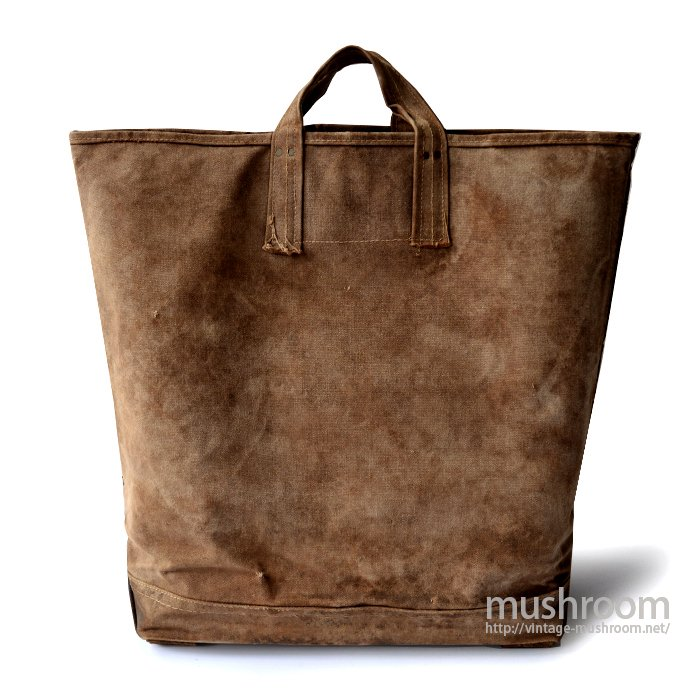 OLD CANVAS COAL BAG( HUGE SIZE )