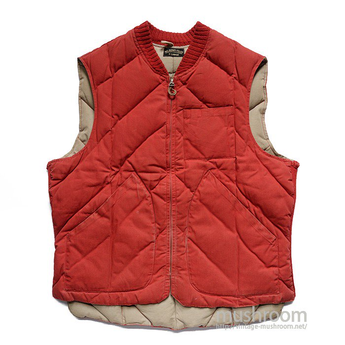 ALL DOWN FIELD ZIP-UP DOWN VEST