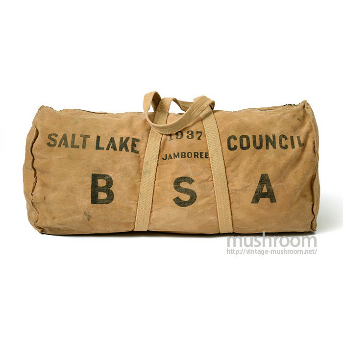 1937 BSA CANVAS DUFFLE BAG
