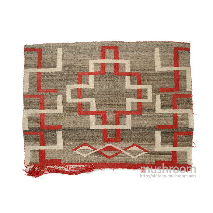 EARLY WHIRLING LOGS NAVAJO RUG