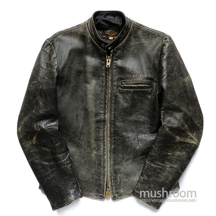 HARLEY-DAVIDSON CAFE LACER LEATHER JACKET