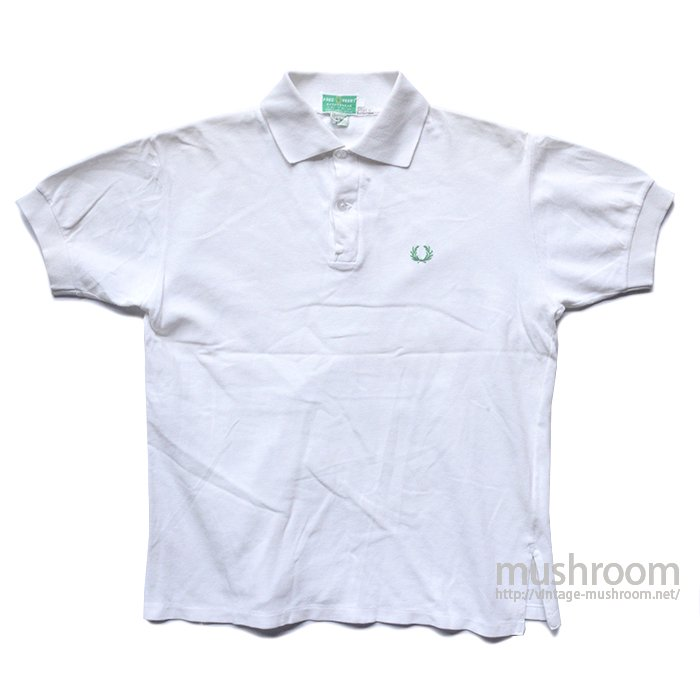 A&F PLAIN COTTON POLO SHIRT( MADE BY FRED PERRY )