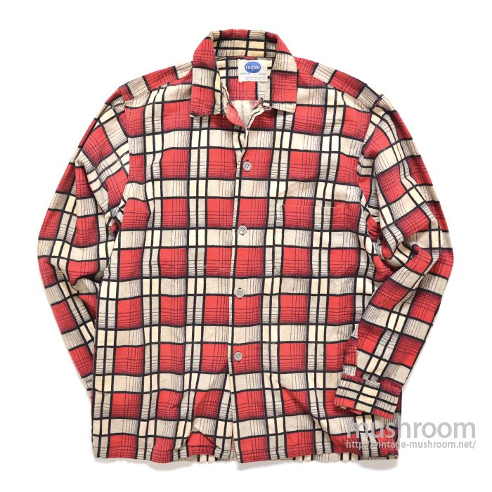 PILGRIM PLAID PRINT FLANNEL SHIRT