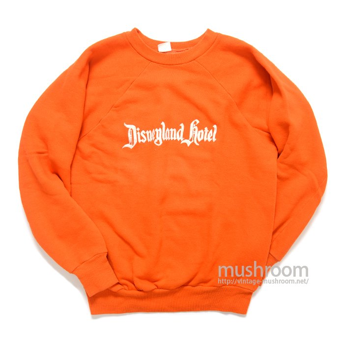 OLD DISNEYLAND HOTEL FLOCK PRINT SWEAT SHIRT