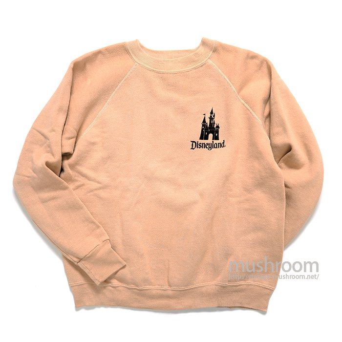 OLD DISNEYLAND FLOCK PRINT SWEAT SHIRT