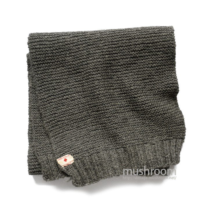 WW1 AMERICAN RED CROSS KNIT MUFFLER( MINT )