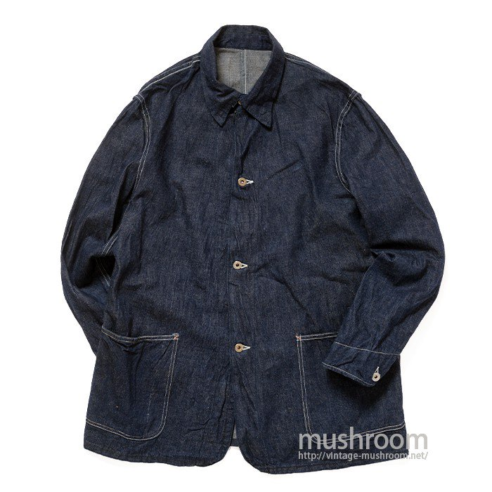 WW2 TWO-POCKET DUNGAREE DENIM COVERALL( ONE-WASHED )