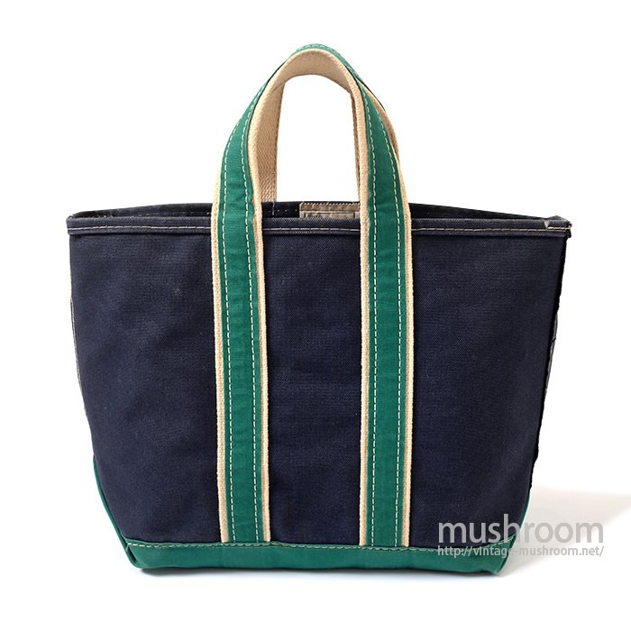 L.L.BEAN DELUXE TOTE BAG( NAVY/GREEN )