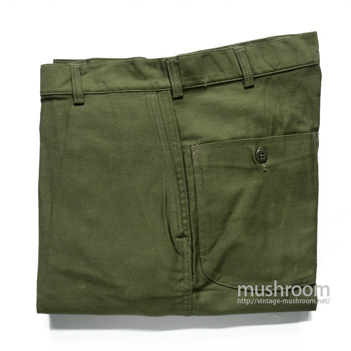 U.S.MILITARY UTILITY COTTON TROUSER( 32-32/DEADSTOCK/2 )