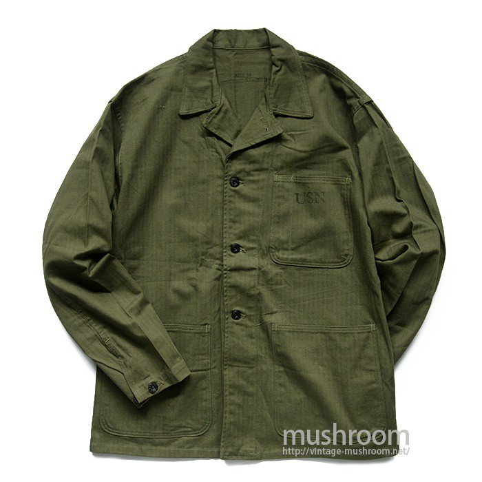 WW2 U.S.NAVY HBT UTILITY JACKET( 38/DEADSTOCK )