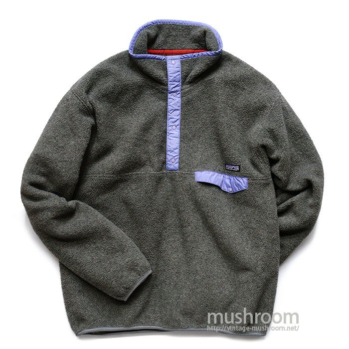 PATAGONIA SNAP-T FLEECE JACKET( L/MINT )