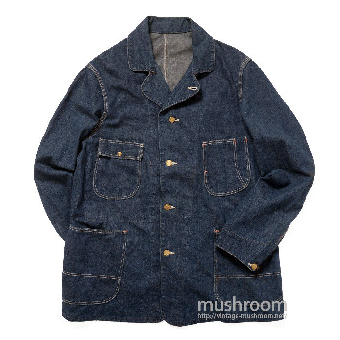 UNKNOWN DENIM COVERALL